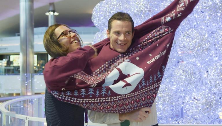 Eurowings - Heathrow Christmas Activation