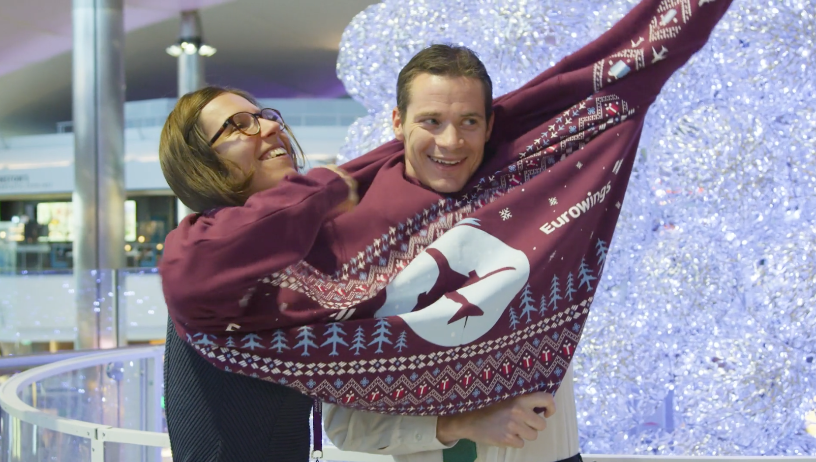 Eurowings - Heathrow Christmas Activation