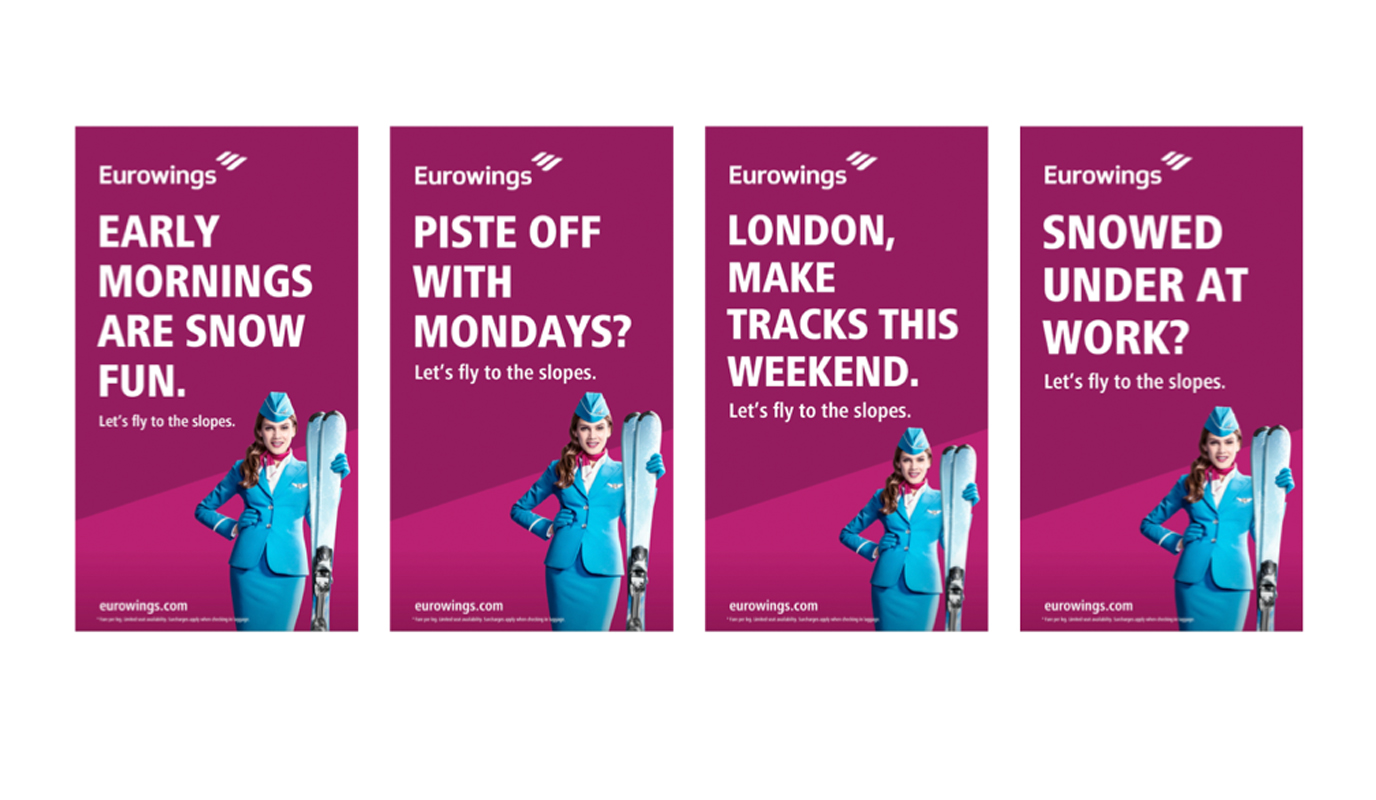 Eurowings - Winter Ski Campaign