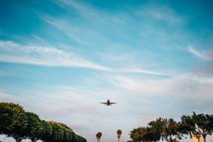 flying airplane plane