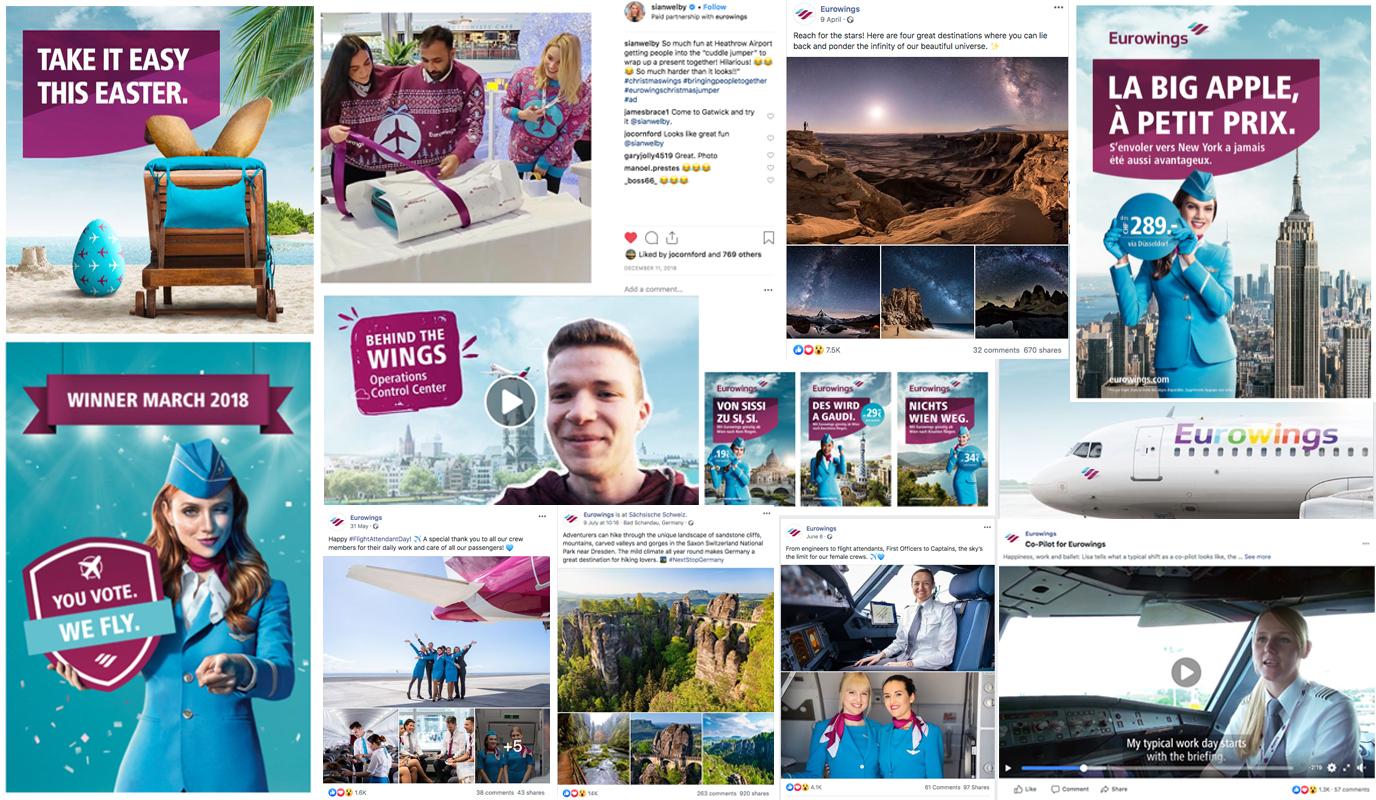 Eurowings - International Social Media