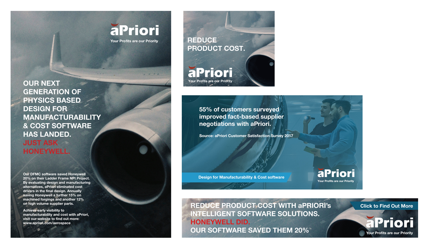 aPriori - Cost Management Software Campaign