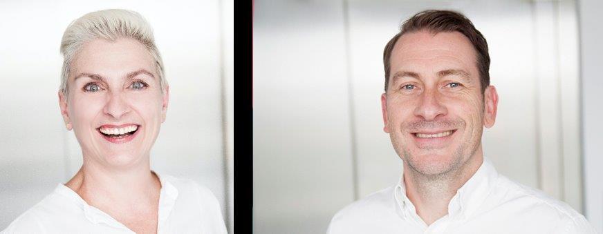 Co-Founder of Exordium, Katy Roggatz & Managing Director of Exordium, Stefan Roggatz